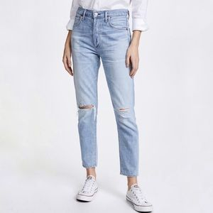 CITIZENS OF HUMANITY   24 LIYA HIGH RISE CROP JEAN